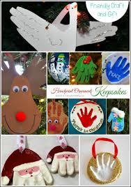 diy keepsake ornaments made with handprints handprint