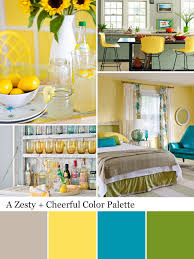 teal brown yellow color pallet paint colors pinterest color