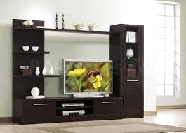 Modern Wall Mounted Entertainment Center Malloy Espresso Entertainment Center Entertainment Centers And