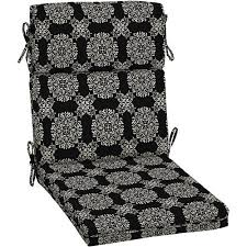 White Dining Chair Cushions Better Homes And Gardens Outdoor Dining Chair Cushion With Welt