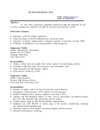 microbiology resume sample assistant professor of microbiology