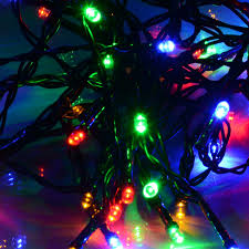 String Of Fairy Lights by 50 Multi Coloured Solar Powered Led Fairy Lights This Is It Stores