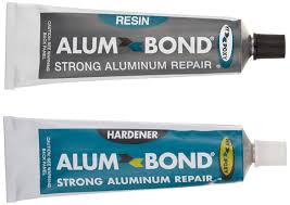 alum bond hy poxy h 450 alumbond 6 5 oz aluminum putty repair