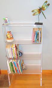 furniture home acrylic bookcase vertical 2 modern elegant 2017