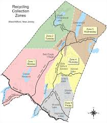 New Jersey Area Code Map Dpw Recycling U0026 Solid Waste Township Of West Milford