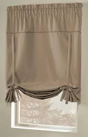 Tie Up Curtain Shade Blackstone Room Darkening Tie Up Curtain Shade Curtain Bath Outlet