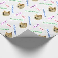 Christmas Doge Meme - custom shibe doge meme craft supplies for quilting sewing and