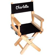 chaise metteur en chaise metteur en scène enfant personnalisée naturel