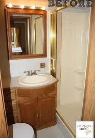 ideas for small bathrooms makeover rv motorhome bathroom makeover hometalk