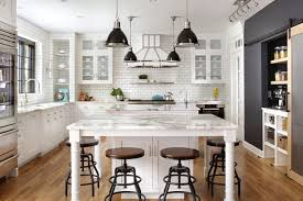 are black and white kitchens in style kitchen of the week industrial style in black and white