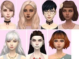 sims 4 maxis match cc hair show me your favourite maxis match hair a collection thread the