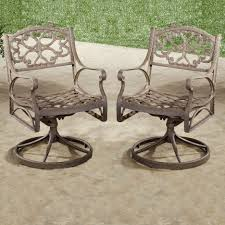 Patio Chairs Without Cushions by Swivel Rocking Patio Chairs Ideas Home U0026 Interior Design