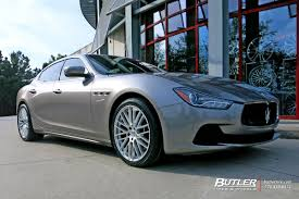 custom maserati ghibli maserati ghibli with 20in tsw max wheels exclusively from butler