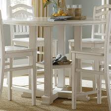 create a fresh breakfast nook with a counter height pub table