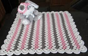 baby girl crochet baby girl gift set crochet baby blanket with headband
