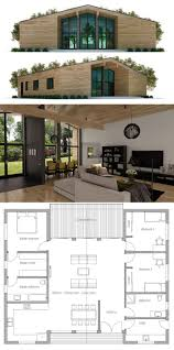 Small Contemporary House Plans Small House Plan Small House Plans Pinterest Small House
