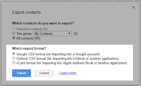 csv format outlook import how to export contacts from gmail explanation with images