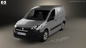 peugeot partner 2015 360 view of peugeot partner van 2015 3d model hum3d store
