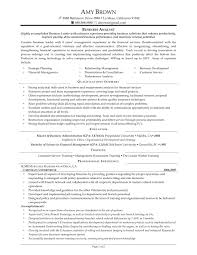 Sample Business Analyst Resume Entry Level by Data Analyst Sample Resume Template Examples