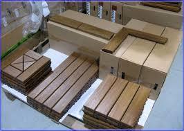 faux wood deck tiles