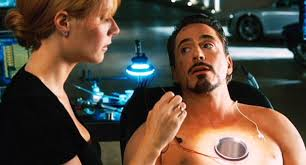 marvel cinematic universe when and why did tony stark dig a hole