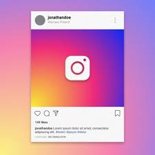 instagram layout vector illustrator instagram vectors photos and psd files free download