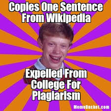 Meme Wikipedia - copies one sentence from wikipedia create your own meme