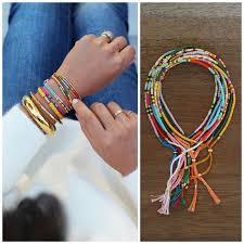 make seed bead necklace images Diy jewelry ideas diy morse code seed bead bracelet tutorial jpg