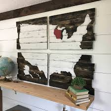 wooden united states wall rustic usa wood map wooden united states of america map