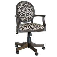 Animal Print Desk Chair Furniture Chairs Page 1 Pretty Clever Decor