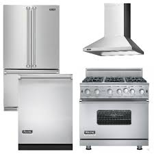 Kitchen Appliances Packages - v7 viking appliance package 4 piece luxury appliance package