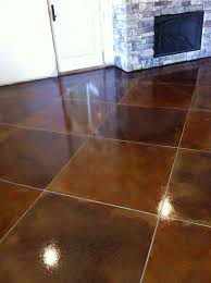 light stained concrete floors scoring lines in a multi colored stained concrete floor decorative