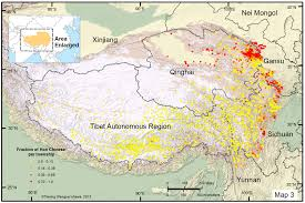 Population Map Of China by Sickness May Hinder Ethnic Integration In The World U0027s Highest Places