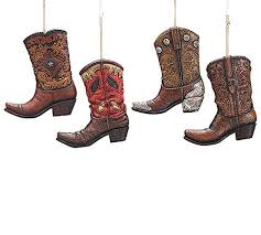 cowboy boot ornaments rainforest islands ferry
