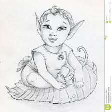 fairy elf baby royalty free stock photography image 33791177
