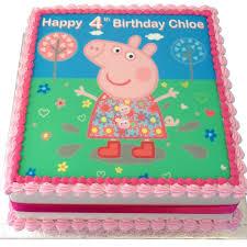 peppa pig birthday cakes peppa pig birthday cakes reha cake