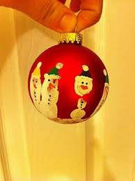 9 best handprint ornament images on snowman handprint
