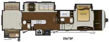 Montana Fifth Wheel Floor Plans New 2014 Keystone Rv Mountaineer 356tbf Fifth Wheel At General Rv