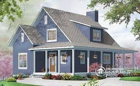 single house plans with wrap around porch house plan w3518 detail from drummondhouseplans com