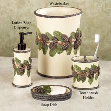 rustic star bathroom decor rustic star bath set133 best bathroom bathroom accessory sets touch of class rustic star accessories pinehaven pine cone bath frustic bathroom accessories