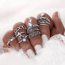 midi rings set 10pcs set gold plated vintage midi rings worldclasslife net