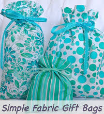 cloth gift bags simple fabric gift bags tutorial go green this christmas when
