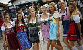 lederhosen low cut blouses and gallons of beer six million
