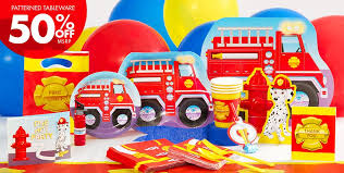 firefighter cupcake toppers firefighter party supplies party city