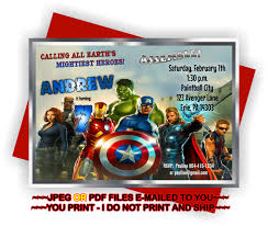 avengers party invitations printable disneyforever hd