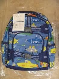 Pottery Barn Kids Houston Mackenzie Navy Rhino Backpack Pottery Barn Kids Backpacks