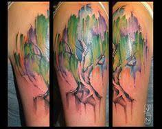 watercolor willow tree sao mai center