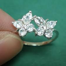 cincin perak cz butterfly silver ring cincin per end 5 8 2016 3 15 pm