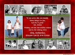 red u0026 green collage christmas card family 2017 christmas