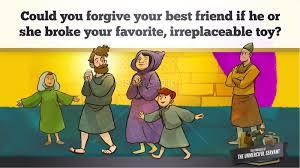 matthew 18 the parable of the unforgiving servant kids bible story